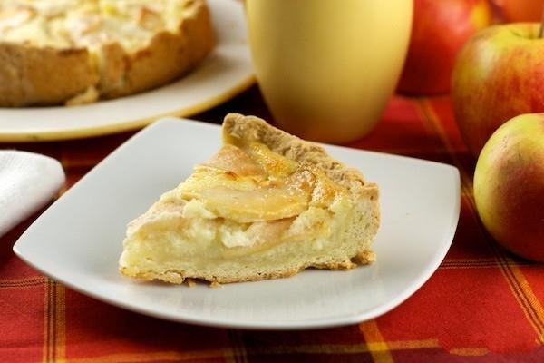 Яблочный пирог в мультиварке открытый рецепт с фото ...