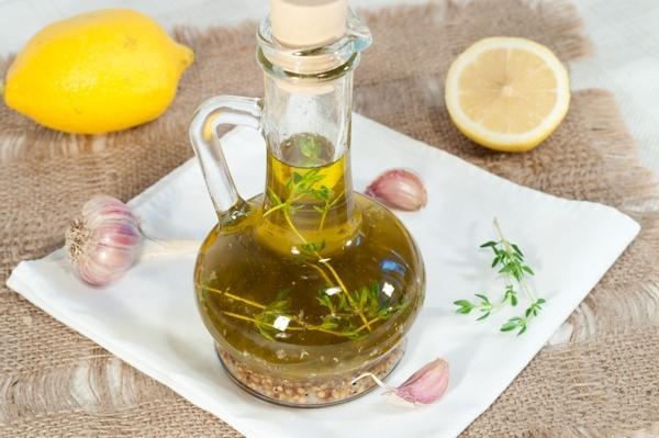 Как сделать ароматное масло с чесноком