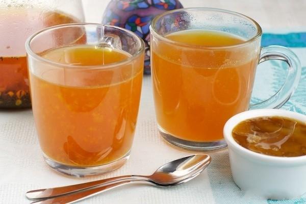 Облепиховый чай рецепт с фото