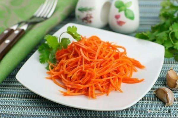 Корейский салат из моркови рецепт в домашних условиях