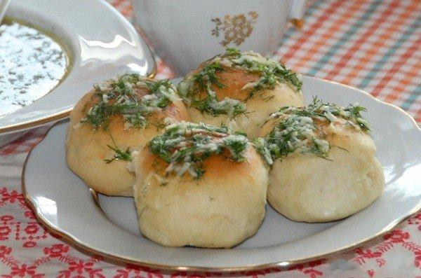 Пампушки в мультиварке рецепт пошагово