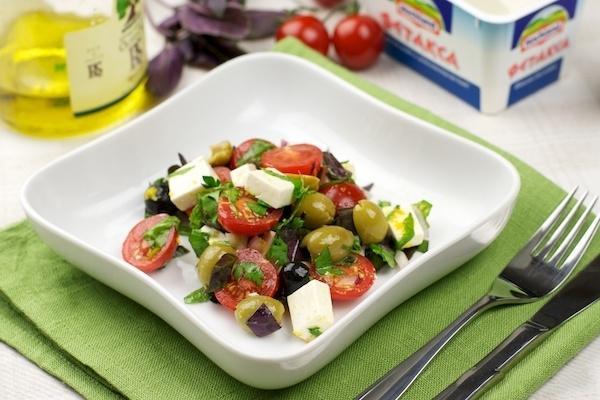 салат из фетаксы с помидорами рецепт