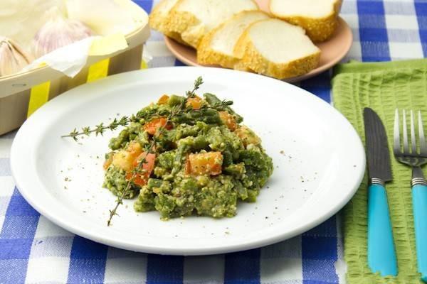 помидоры фасоль салат рецепт