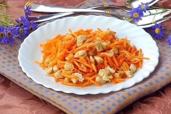 Салаты острые рецепты с простые и вкусные