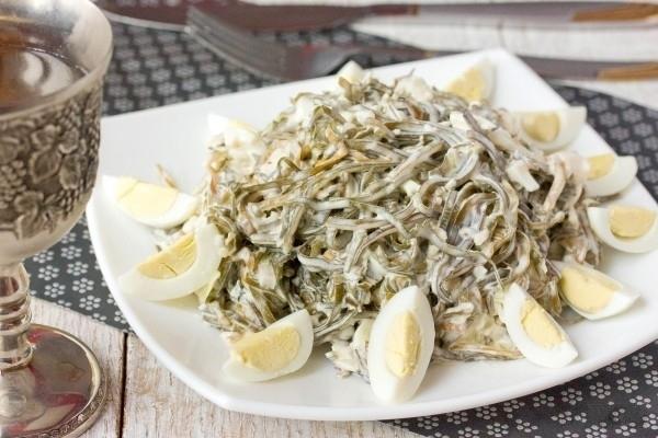 салат вкус моря рецепт