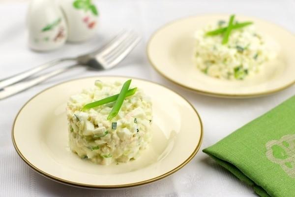 Рецепт салатов с мясом криля