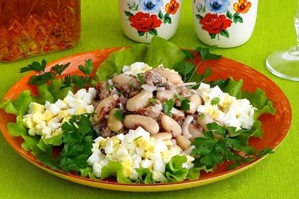 Салат из сардин рецепт