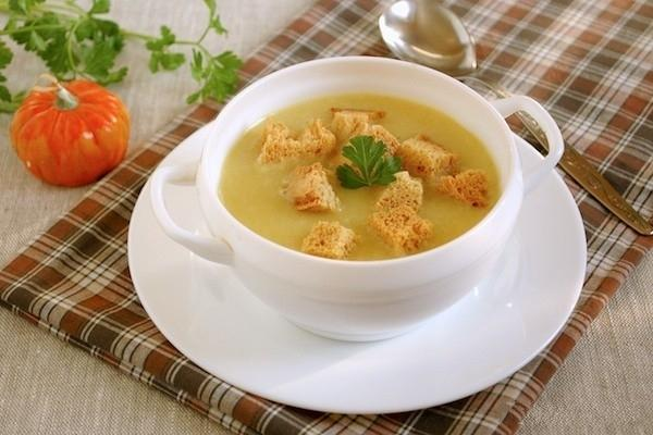 Нежный суп из бекона