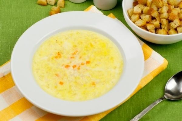 Суп с плавленных сырков рецепт с пошагово в