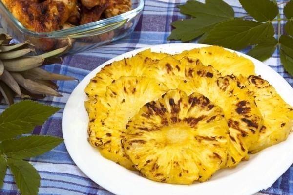 Блюда из ананасов рецепты с фото