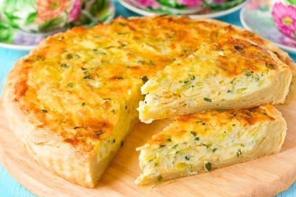 рецепт сырный пирог в духовке рецепт с фото