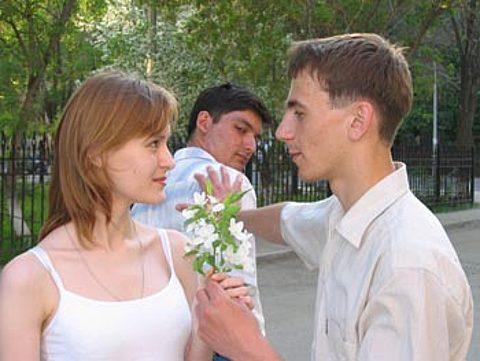 что если девушка сама познакомиться с парнем