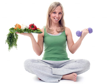 составление рациона питания для похудения