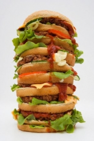 Как сделать гамбургер дома с фото 159