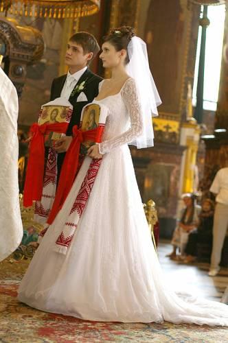 Процесс венчания в православной церкви