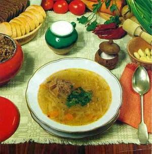 Рецепты первых блюд русской кухни
