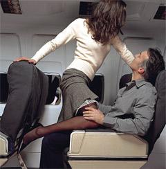 Экстремальный секс в самолете