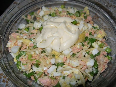 рецепты и фото салатов