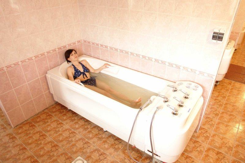 радонові ванни фото