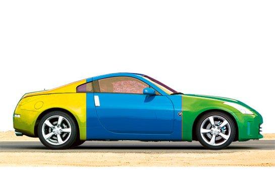 Цвета по фэншую в автомобильном бизнесе