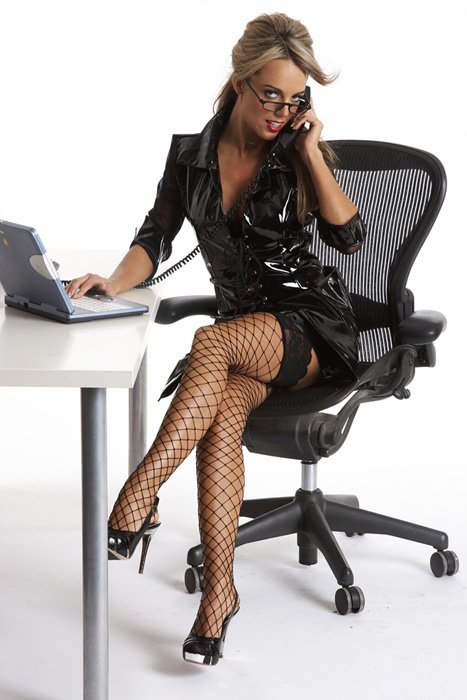 Фотографии сексуальные деловые женщины в чулках