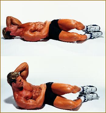 Упражнения на боковые мышцы пресса для мужчин