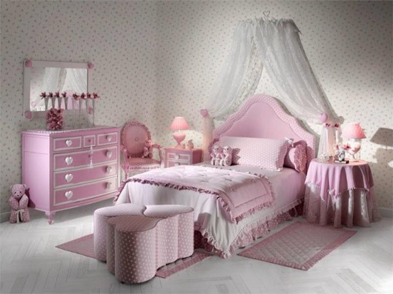 фото дизайн спальни для девочек
