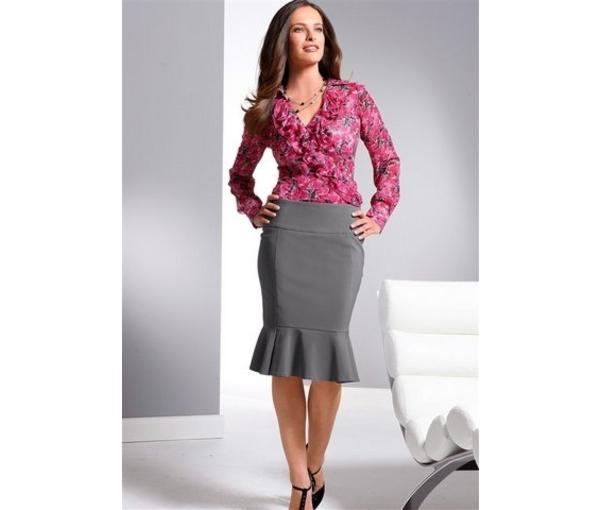 Какую юбку выбрать худой девушке