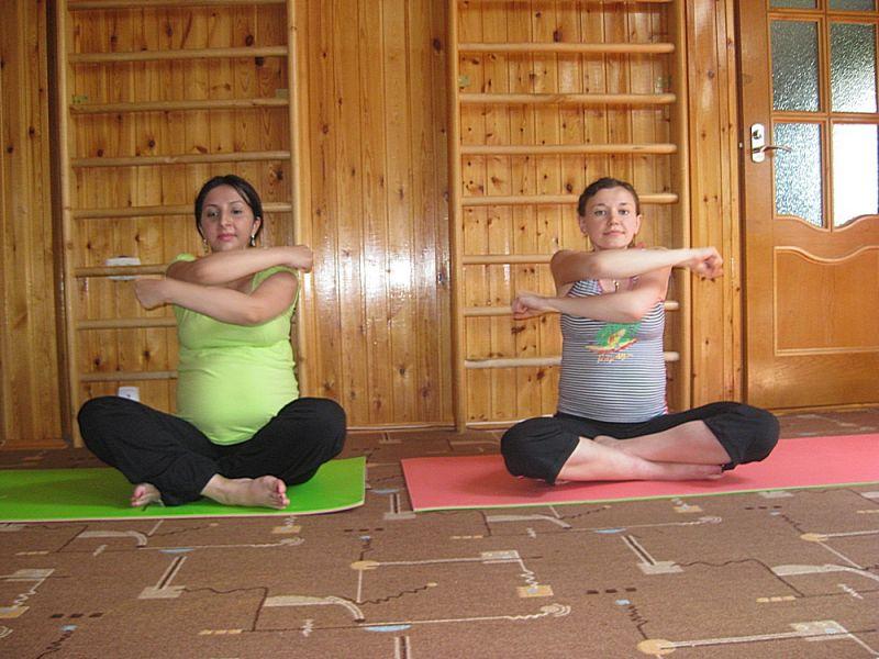 Гимнастика или зарядка для беременных