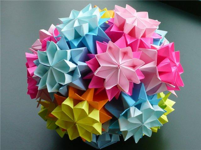 Научиться делать оригами из бумаги