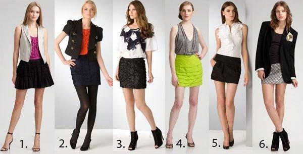Как одевать юбку с кривыми ногами