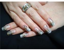 Как делать узоры на ногтях