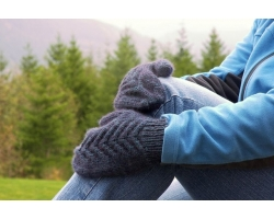Как связать варежки, рукавички
