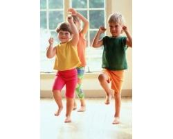 Занятия лечебной физкультурой в детском саду