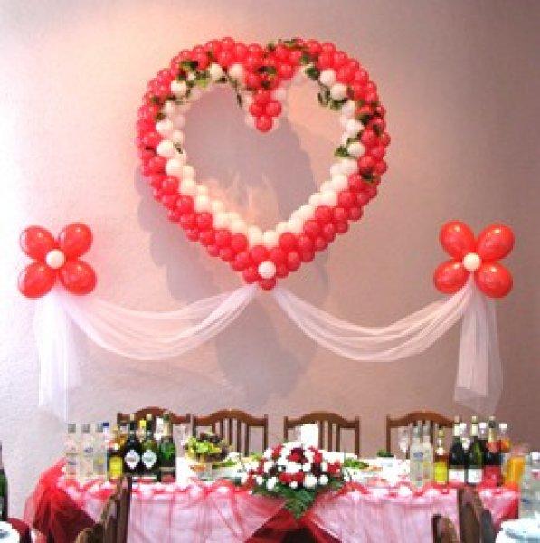 Как своими руками украсить свадьбу шарами фото 27
