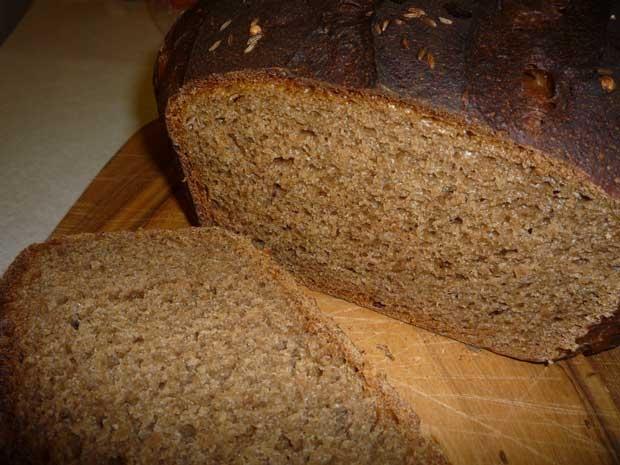 Испечь хлеб из ржаной муки в хлебопечке