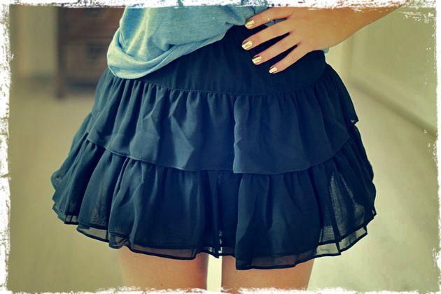 Как сшить модную юбку своими руками