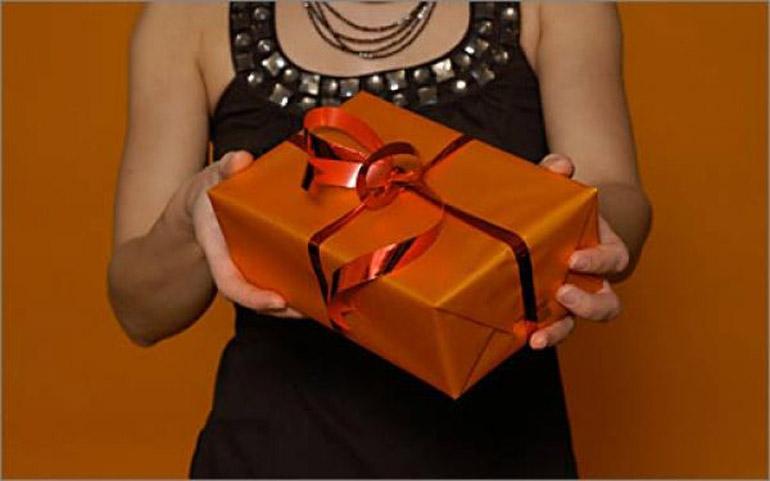 Подарок есть как доставить