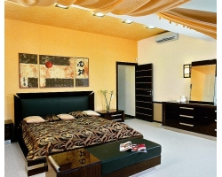 Расстановка мебели в интерьере спальни по фен-шую.