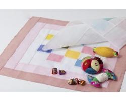 Аппликация из ткани для детей