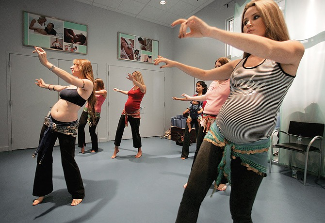 Фото танца живота беременных