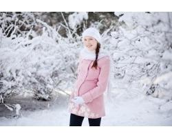 Как одеваться беременной зимой