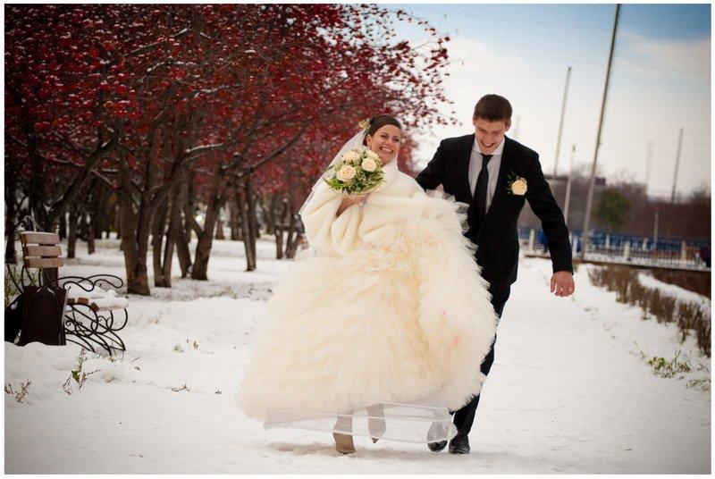 Свадьбы зимой гости 97