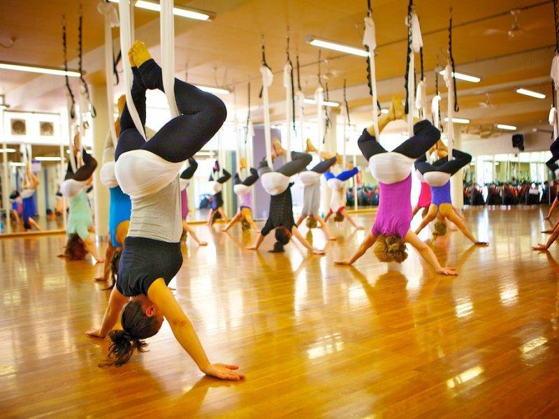 Йога в воздухе - рубцовск - прочее по отдыху и спорту