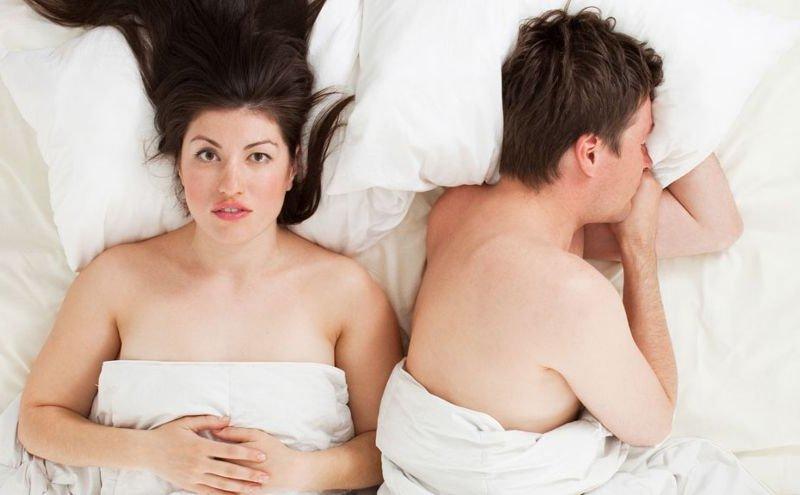 Причин отказа мужчины от секса