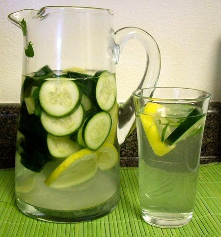вода и правильное питание