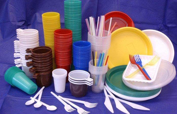 Как украсить одноразовую посуду 131