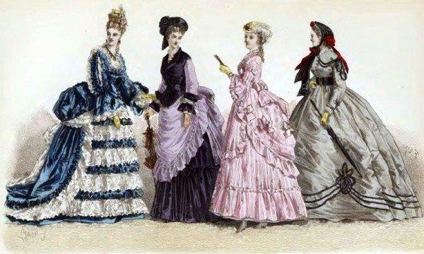 История моды: Русский костюм в 18-ом веке. Петровская