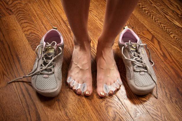 Топтание тела туфлями