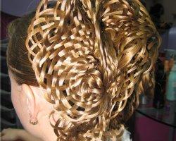 Кружева из волос